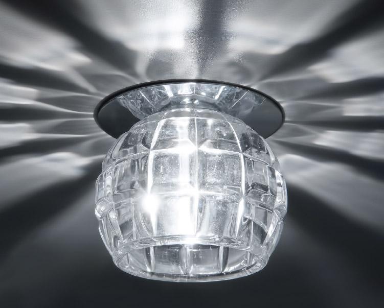 Встраиваемый светильник Donolux DL071CH/Crystal donolux dl056g crystal