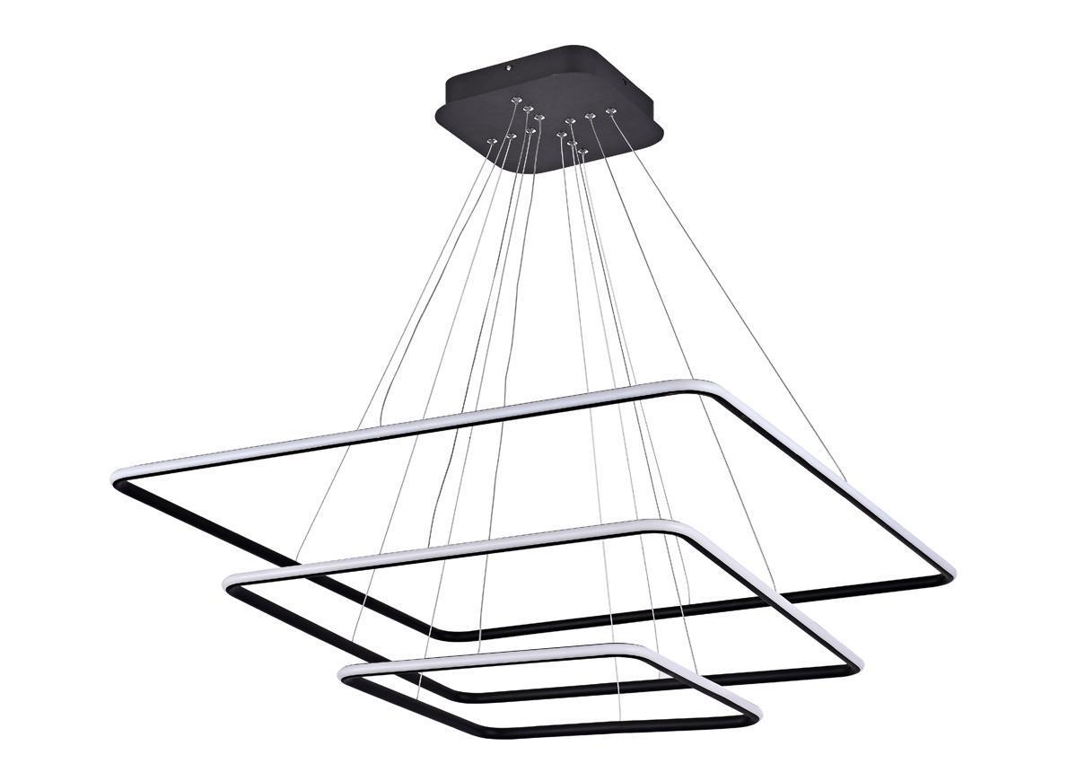 Подвесной светодиодный светильник Donolux S111024/3SQ 135W Black Out