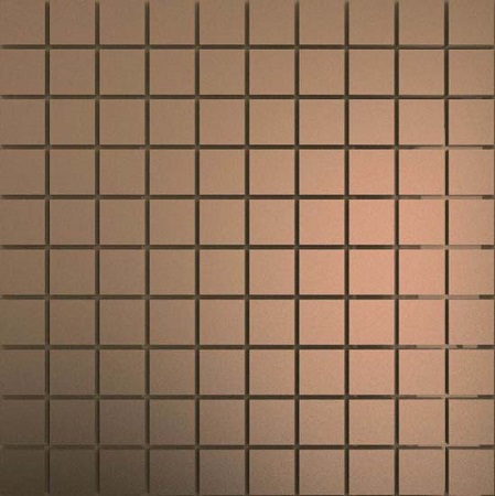 Мозаика зеркальная Бронза матовая Бм25 ДСТ 25 х 25/300 x 300 мм (10шт) - 0,9 мозаичный декор дст зеркальная бронза 2 5x2 5 30x30