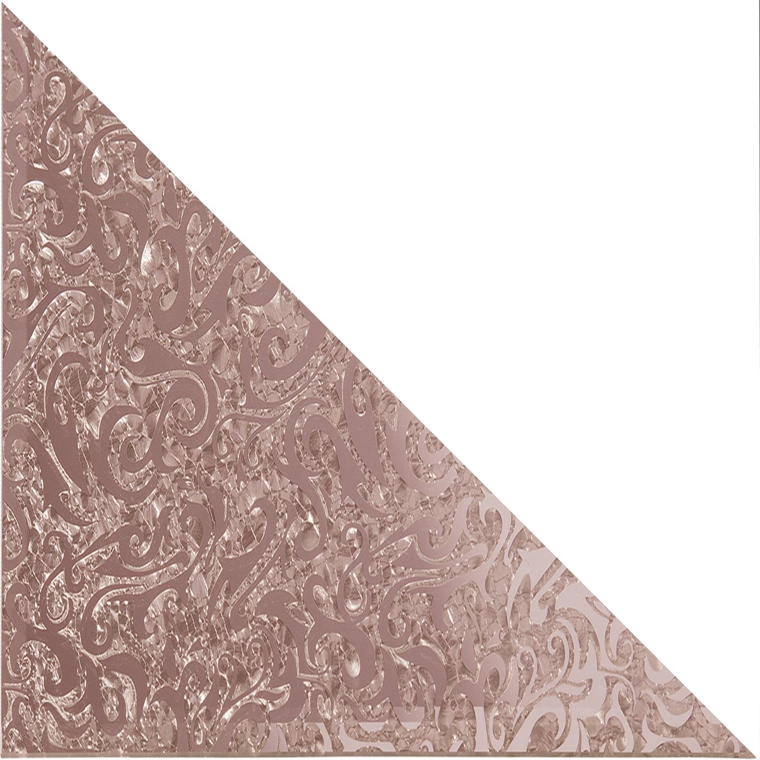 Треугольная зеркальная рыжая плитка Алладин-3 ТЗРАл-3 - 250х250 мм/10шт sitemap 198 xml page 3