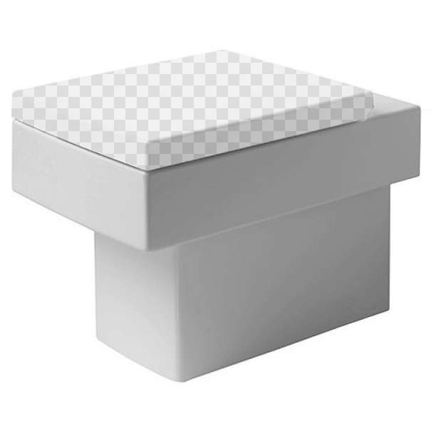Приставной унитаз Duravit Vero 2117090000 без сидения унитаз приставной duravit d code 21150900002
