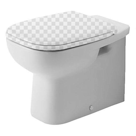 Приставной унитаз Duravit D Code 211509 без сидения унитаз приставной duravit d code 21150900002
