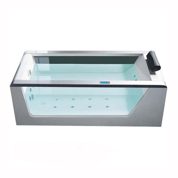 Акриловая ванна Eago AM152JDTS-1Z ванна okt hippo 1 м 8437 фиолетовый