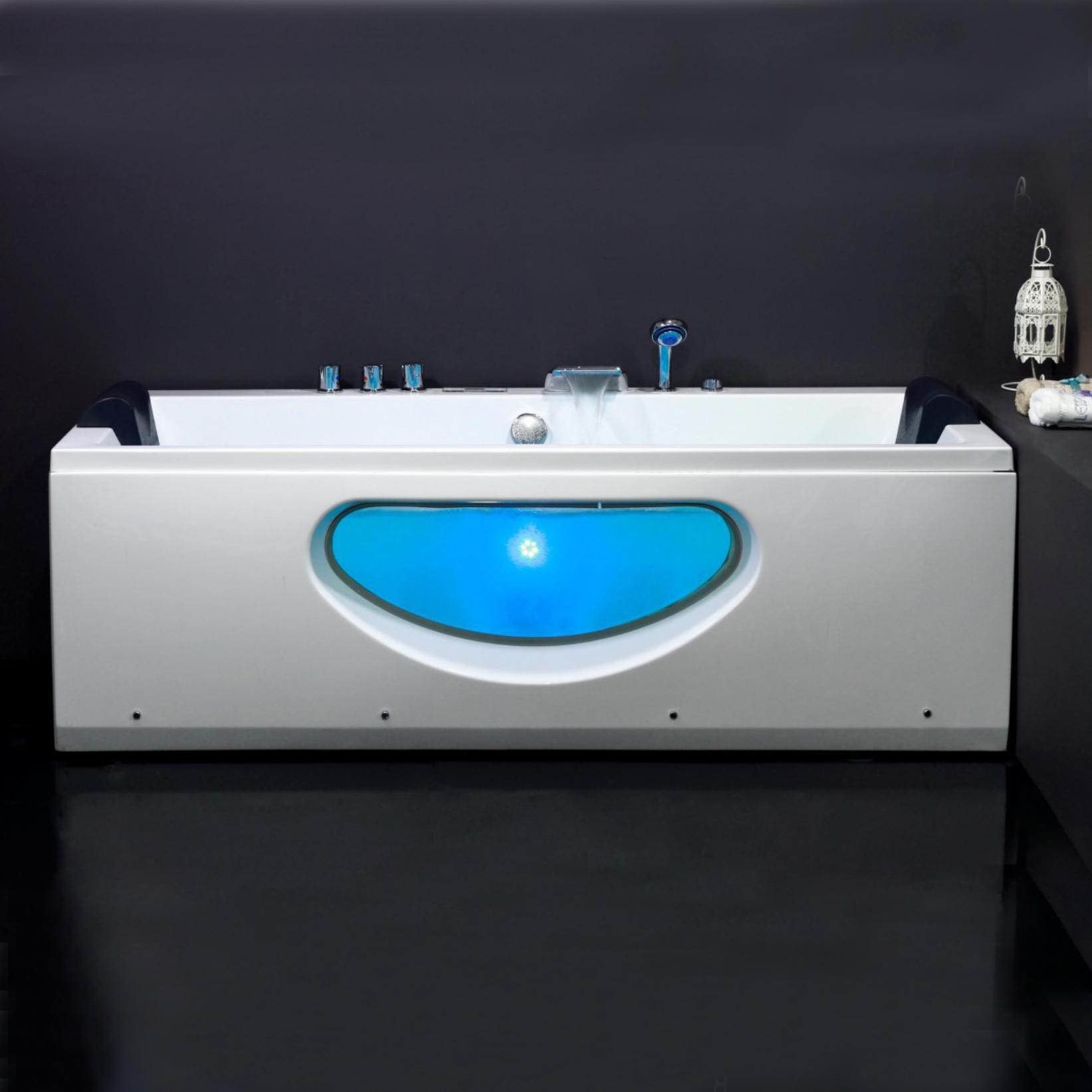 Акриловая ванна Eago AM220JDCHZ summer infant детская ванна с гидромассажем