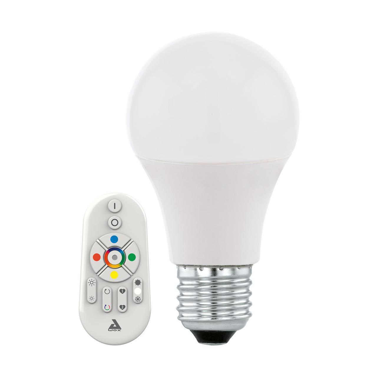 Лампа светодиодная E27 9W 2700-6500K матовая 11585