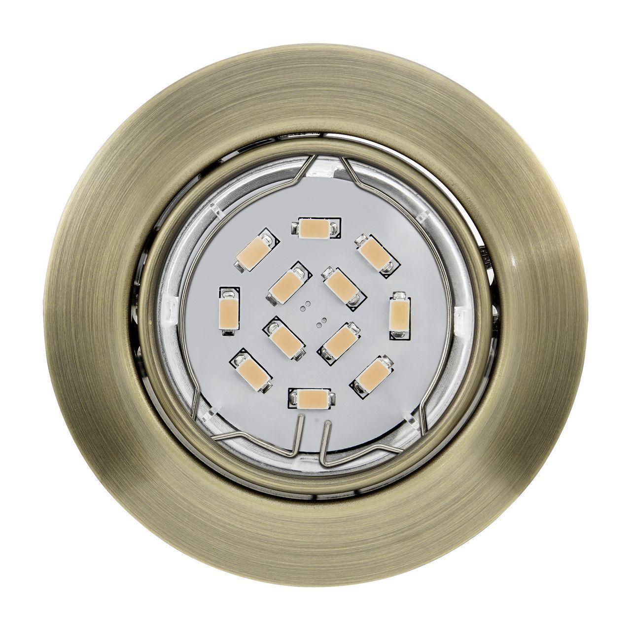 Встраиваемый светильник Eglo Peneto 94243 eglo встраиваемый светильник eglo peneto 94239
