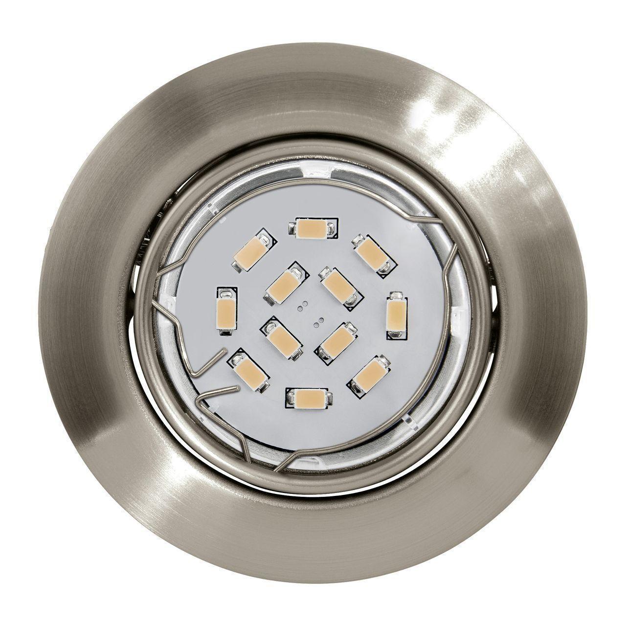 Встраиваемый светильник (в комплекте 3 шт.) Eglo Peneto 94408 eglo встраиваемый светильник eglo peneto 94239