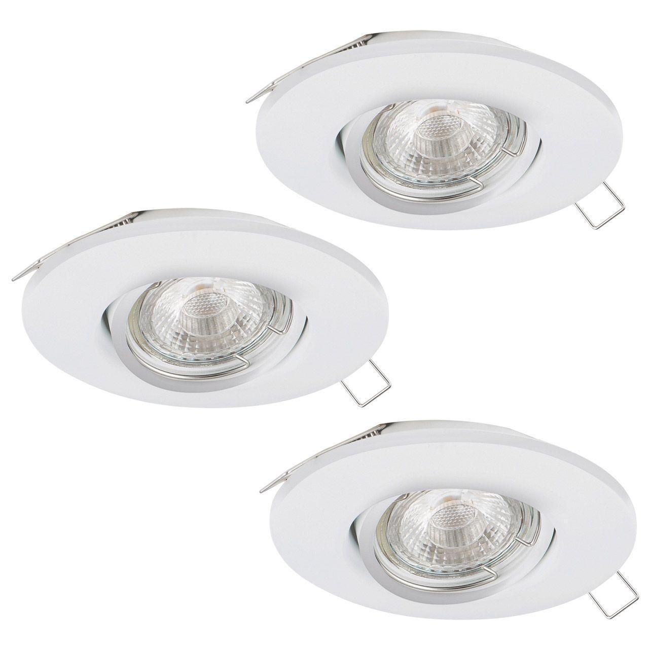 Встраиваемый светодиодный светильник Eglo Peneto 1 95895 eglo встраиваемый светильник eglo peneto 94239