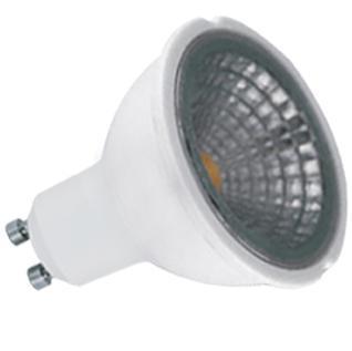 Лампа светодиодная диммируемая GU10 5W 3000K прозрачная 11541 лампа светодиодная диммируемая cob gu10 5вт 3000k 11541