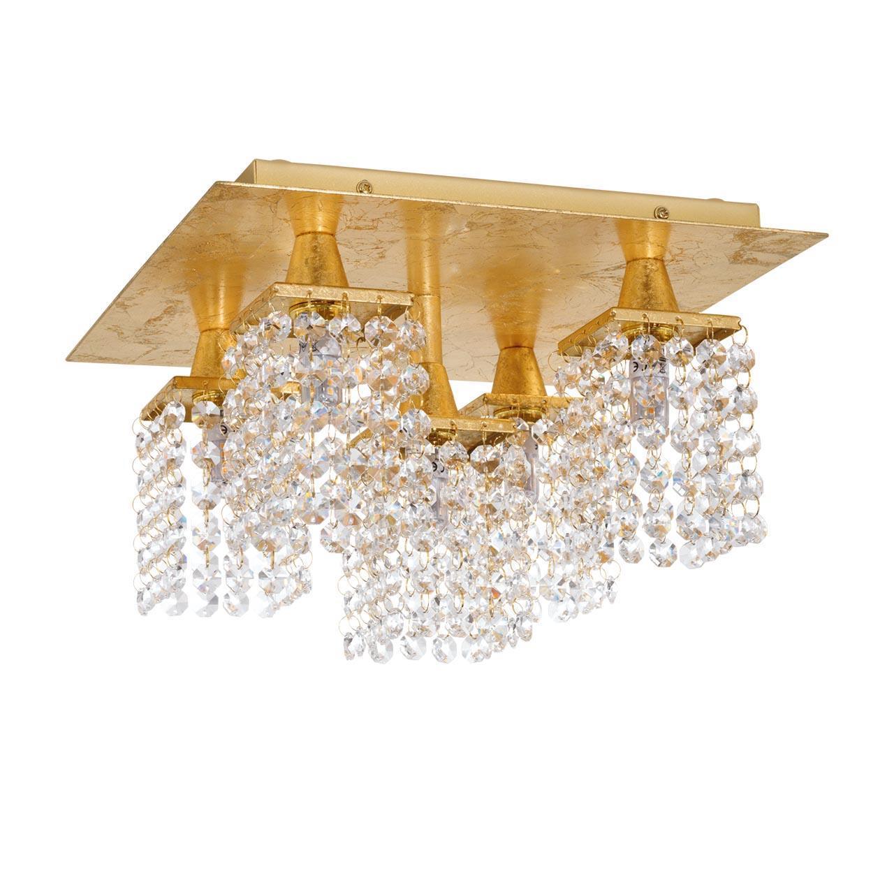 Потолочная люстра Eglo Pyton Gold 97721 цена 2017