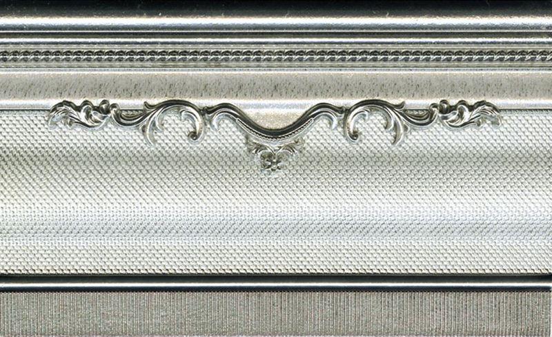 Бордюр El Molino Zoc Yute Plata-Perla 15х25 bersuit vergarabat la plata