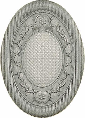 Декор El Molino Medallon Yute Plata-Perla 10х14 bersuit vergarabat la plata