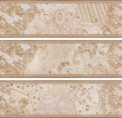 Декор El-Molino Cen. Balenciaga Beige 14х45 бордюр el molino boreal cen epoca beige 14x45 3 вида