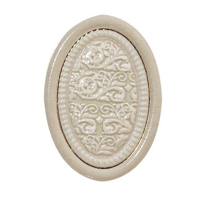 Декор El-Molino Medallon Dario Oro-Marfil 14х10 декор europa ceramica crema marfil dec pitti 30х60