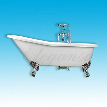 Чугунная ванна Elegansa Schale Chrome 170х75 schale bowl
