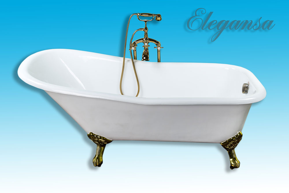 Чугунная ванна Elegansa Schale Gold 170х75 schale bowl