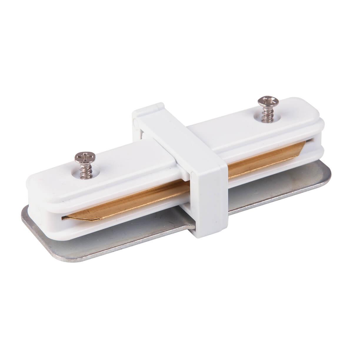 Коннектор прямой Elektrostandard TRC-1-1-I-WH 4690389112331 коннектор прямой elektrostandard trc 1 1 i bk 4690389112324