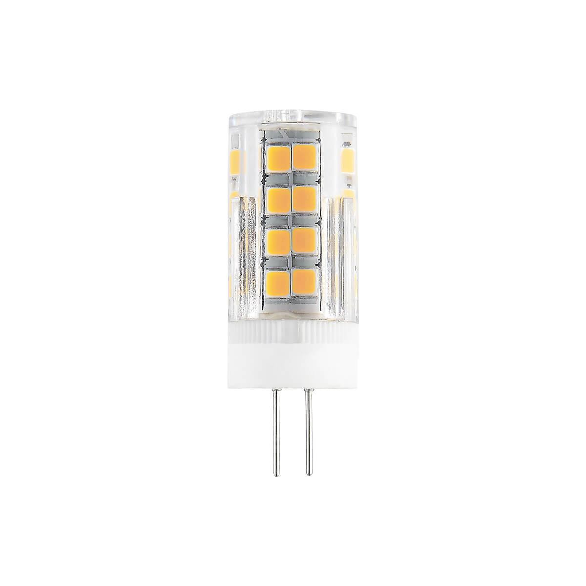 Лампа светодиодная G4 7W 3300K прозрачная 4690389112966 elektrostandard лампа светодиодная e14 7w 3300k шар матовый mini 4690389061622