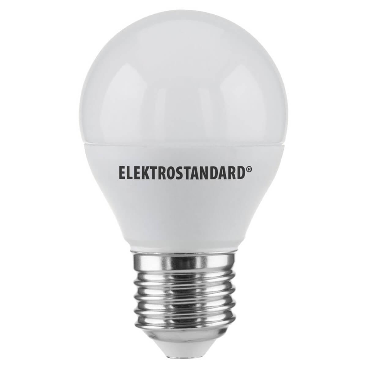 Лампа светодиодная E27 7W 6500K матовая 4690389085420