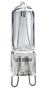 купить Лампа галогенная G9 50W прозрачная 4607138146967 по цене 51 рублей