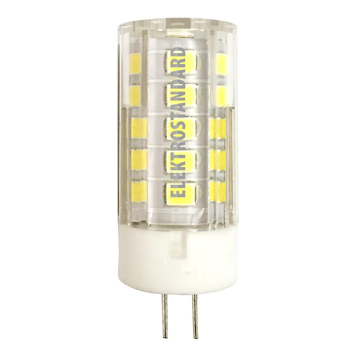 Лампа светодиодная G4 5W 4200K прозрачная 4690389093661 лампа светодиодная elektrostandard 4690389093661