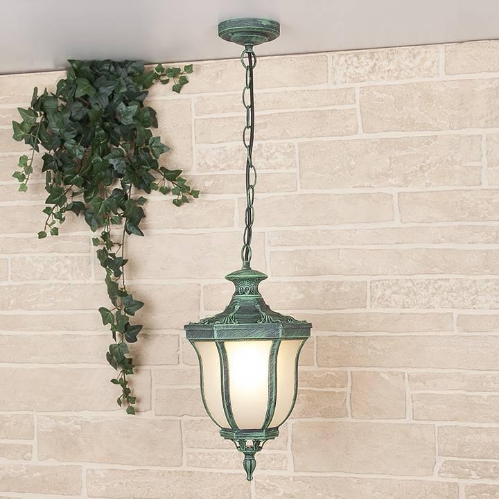 Уличный подвесной светильник Elektrostandard Taurus H малахит 4690389065071 садовый светильник elektrostandard taurus f малахит арт glxt 1458f