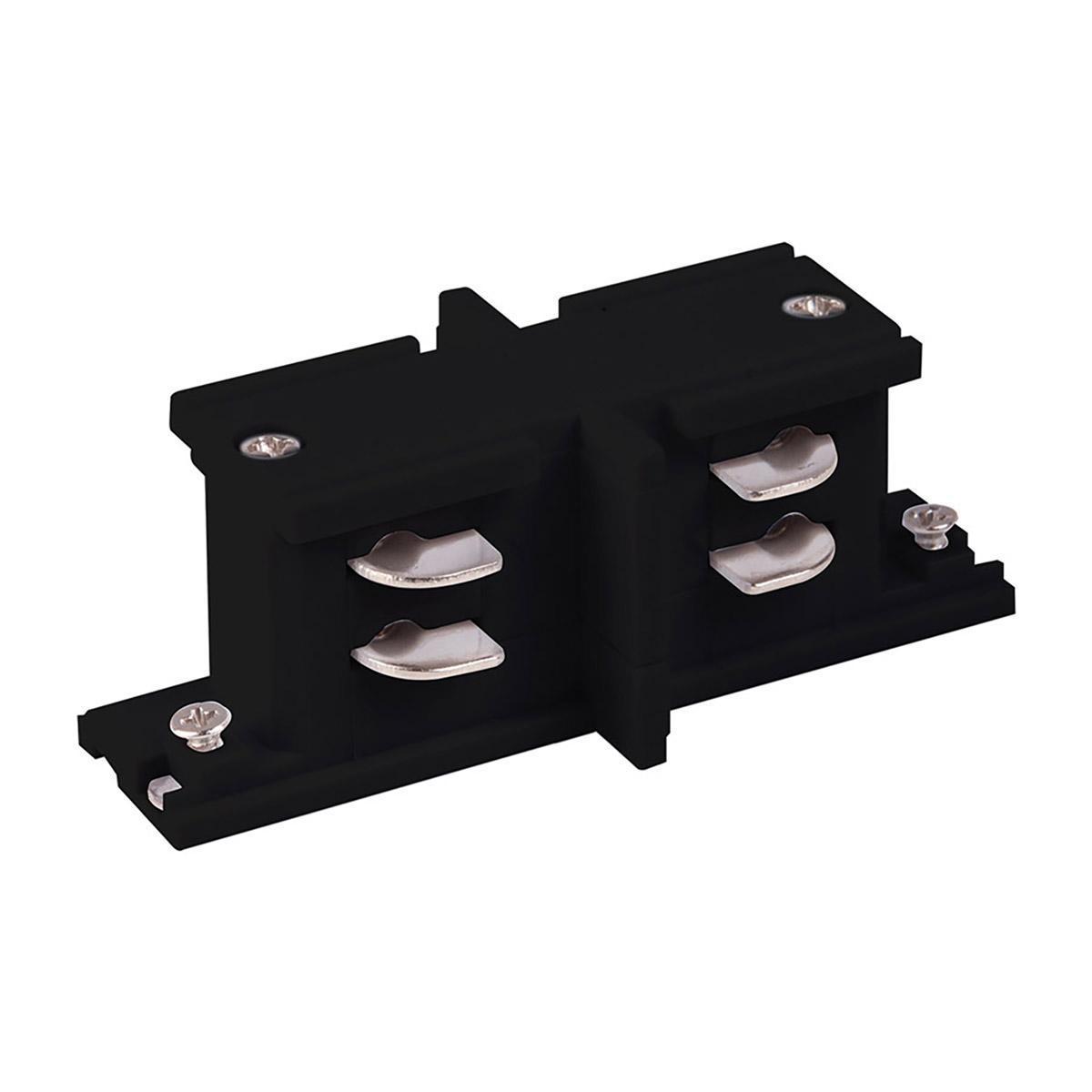 Коннектор прямой внутренний Elektrostandard TRC-1-3-II-BK 4690389112430 коннектор прямой elektrostandard trc 1 1 i bk 4690389112324