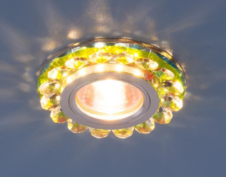 Фото - Встраиваемый светильник Elektrostandard 6036 MR16 MLT мульти 4690389053191 cветильник галогенный de fran встраиваемый 1х50вт mr16 ip20 зел античное золото