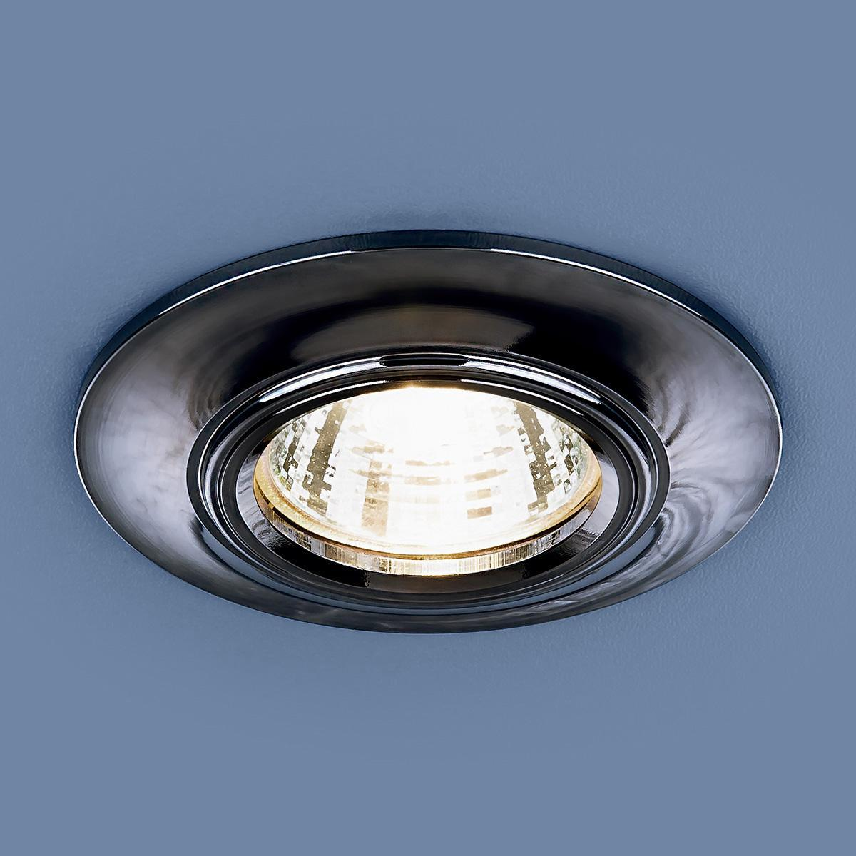 Фото - Встраиваемый светильник Elektrostandard 7007 MR16 GR графит 4690389098437 cветильник галогенный de fran встраиваемый 1х50вт mr16 ip20 зел античное золото
