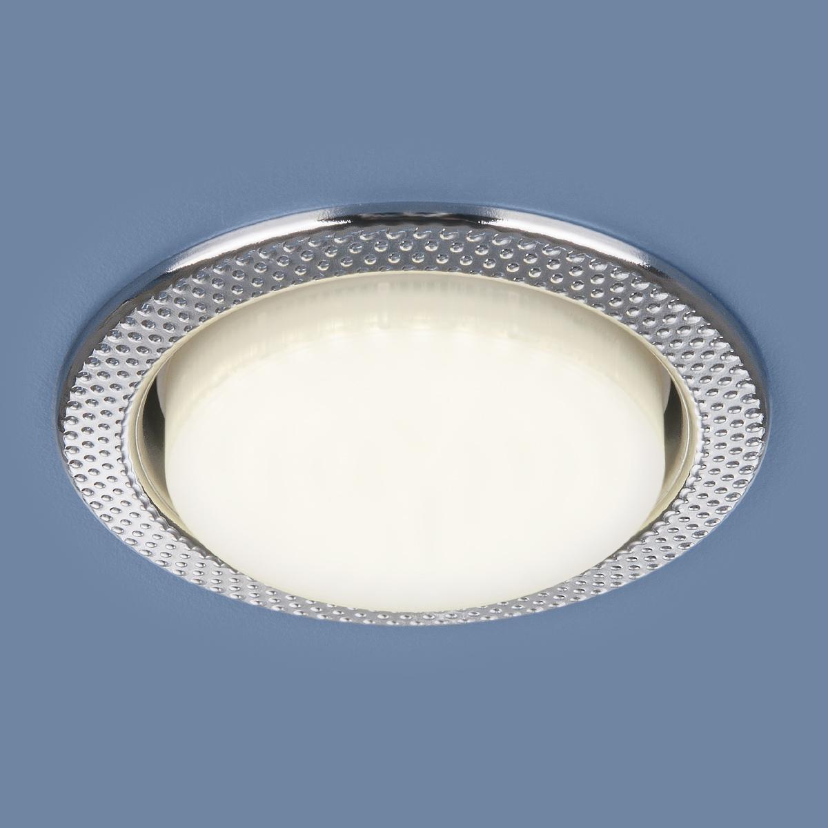 Встраиваемый светильник Elektrostandard 1066 GX53 CH хром 4690389078682 встраиваемый светильник elektrostandard 1035 gx53 ch хром 4690389065156