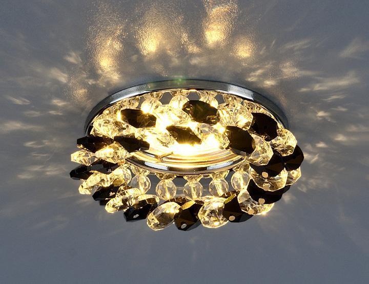 Фото - Встраиваемый светильник Elektrostandard 206 MR16 CH/BK/CL хром/черный/прозрачный 4690389029547 встраиваемый светильник elektrostandard 8351 mr16 cl bk прозрачный черный 4690389098376