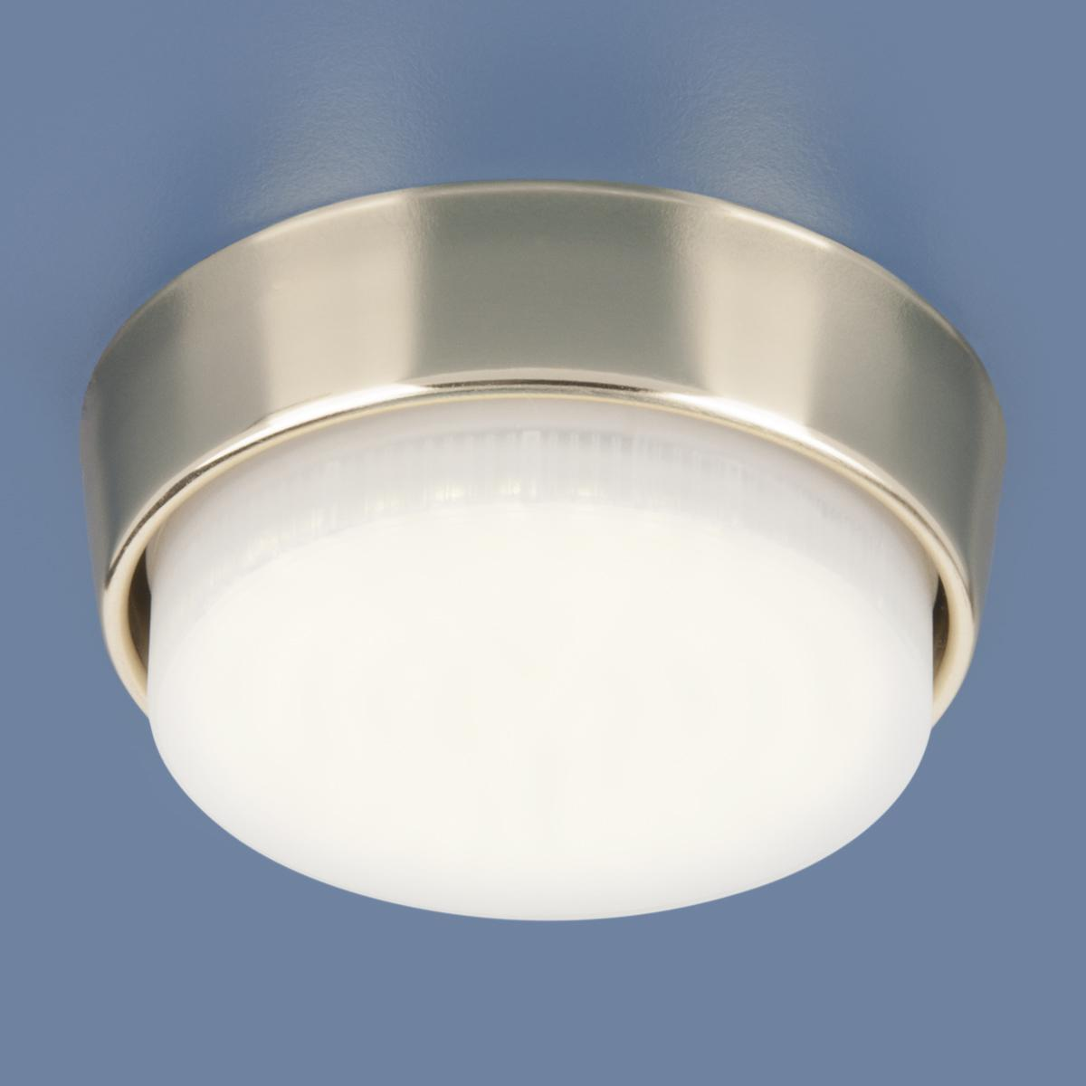 Накладной светильник Elektrostandard 1037 GX53 GD золото 4690389071522 elektrostandard накладной точечный светильник elektrostandard 1037 gx53 gd золото 4690389071522
