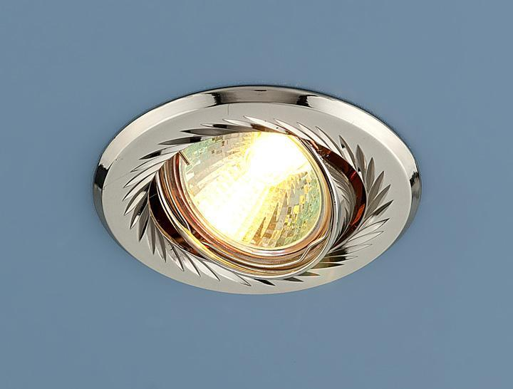 Встраиваемый светильник Elektrostandard 704 CX MR16 PS/N перл. серебро/никель 4607176196054 встраиваемый светильник elektrostandard 704 cx mr16 ps n перл серебро никель 4607176196054