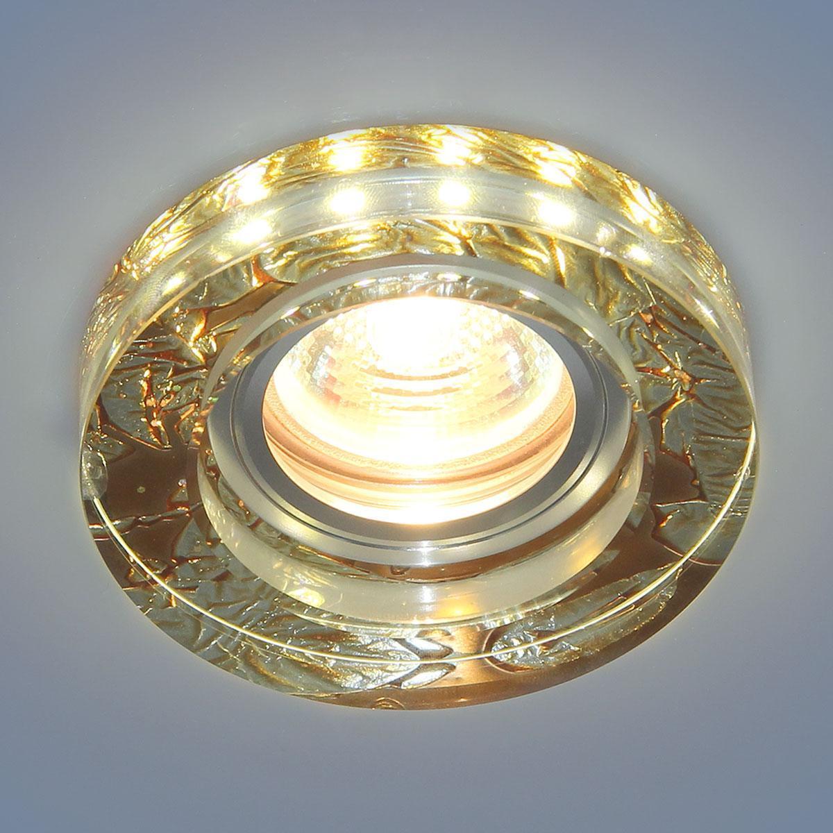 Встраиваемый светильник Elektrostandard 2190 MR16 PK розовый перламутр 4690389083211 elektrostandard точечный светильник со светодиодами elektrostandard 2190 mr16 pk розовый перламутр 4690389083211