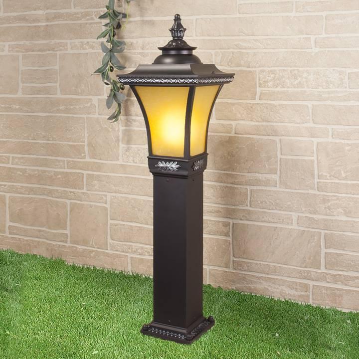 Уличный светильник Elektrostandard Libra F венге 4690389064746 фонарный столб elektrostandard libra f 2 венге арт glxt 1408f 2
