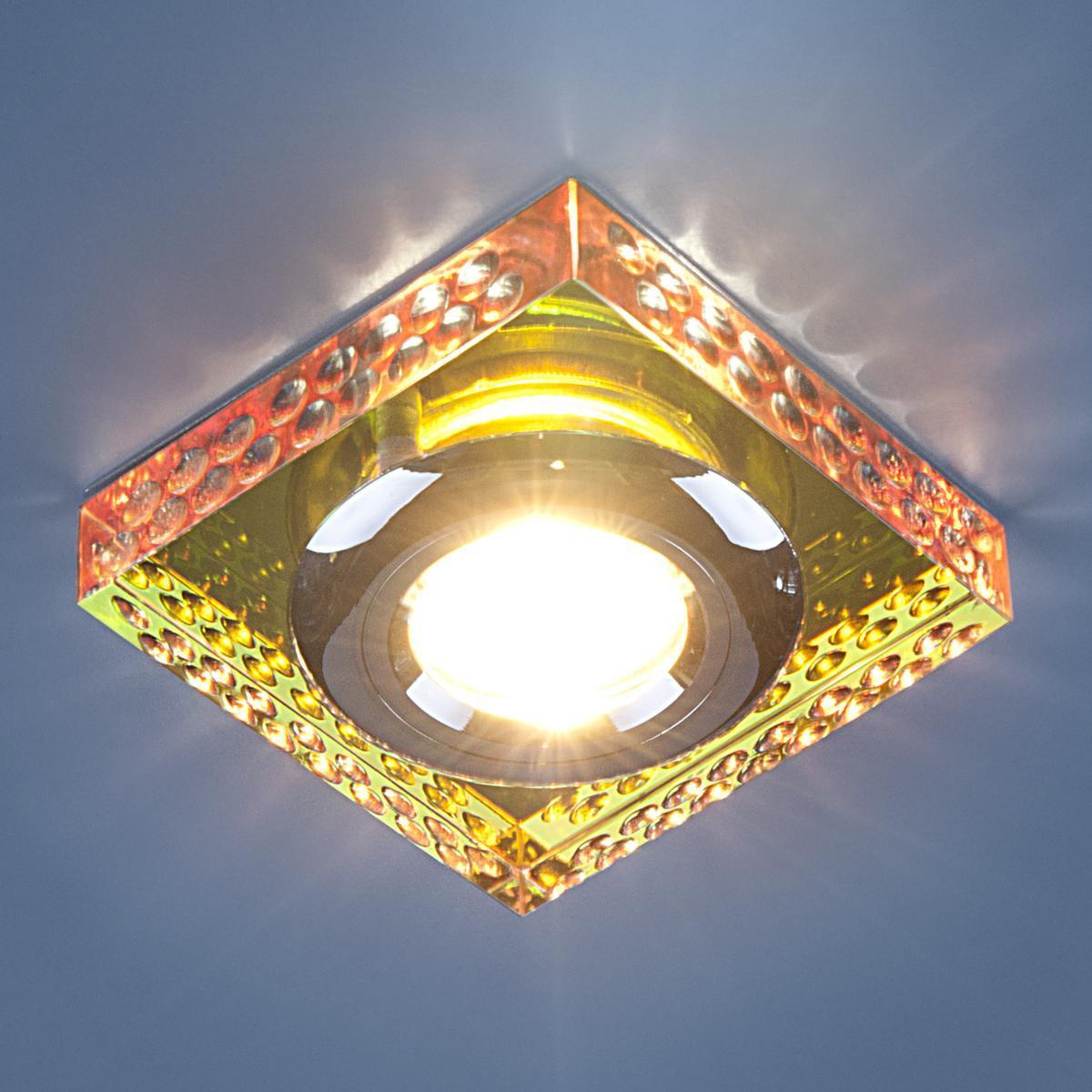 Фото - Встраиваемый светильник Elektrostandard 1058 зеркальный/мульти (Clear/Multi) 4690389012815 multi compartment clear makeup holder