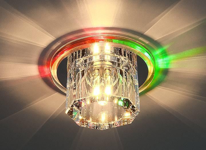 Встраиваемый светильник с двойной подсветкой Elektrostandard N4/A G4 Multi мульти 4690389003158 цены онлайн