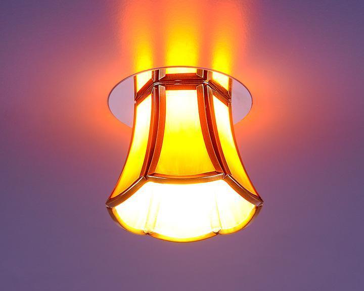 Встраиваемый светильник Elektrostandard 8375 G9 бронза/коричневый (SB/Brown) 4690389028489 brown 90