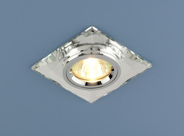 Фото - Встраиваемый светильник Elektrostandard 8470 MR16 SL зеркальный/серебро 4690389007538 cветильник галогенный de fran встраиваемый 1х50вт mr16 ip20 зел античное золото