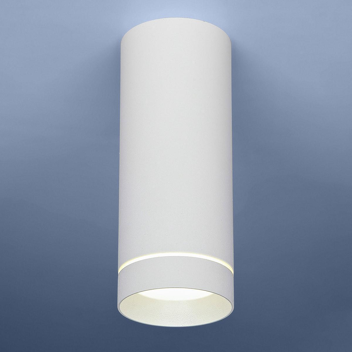Потолочный светодиодный светильник Elektrostandard DLR022 12W 4200K белый матовый 4690389102974 elektrostandard накладной точечный светильник elektrostandard dlr022 12w 4200k черный матовый 4690389102967