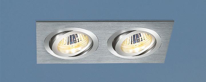 Встраиваемый светильник Elektrostandard 1011/2 MR16 CH хром 4690389055836 встраиваемый светильник elektrostandard 1011 2 mr16 ch хром 4690389055836