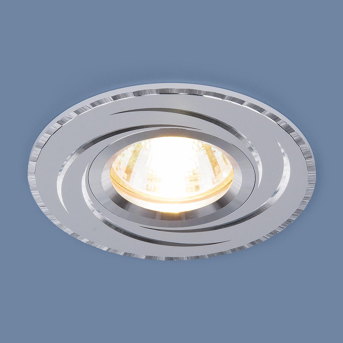 Фото - Встраиваемый светильник Elektrostandard 2002 MR16 WH белый 4690389064111 cветильник галогенный de fran встраиваемый 1х50вт mr16 ip20 зел античное золото