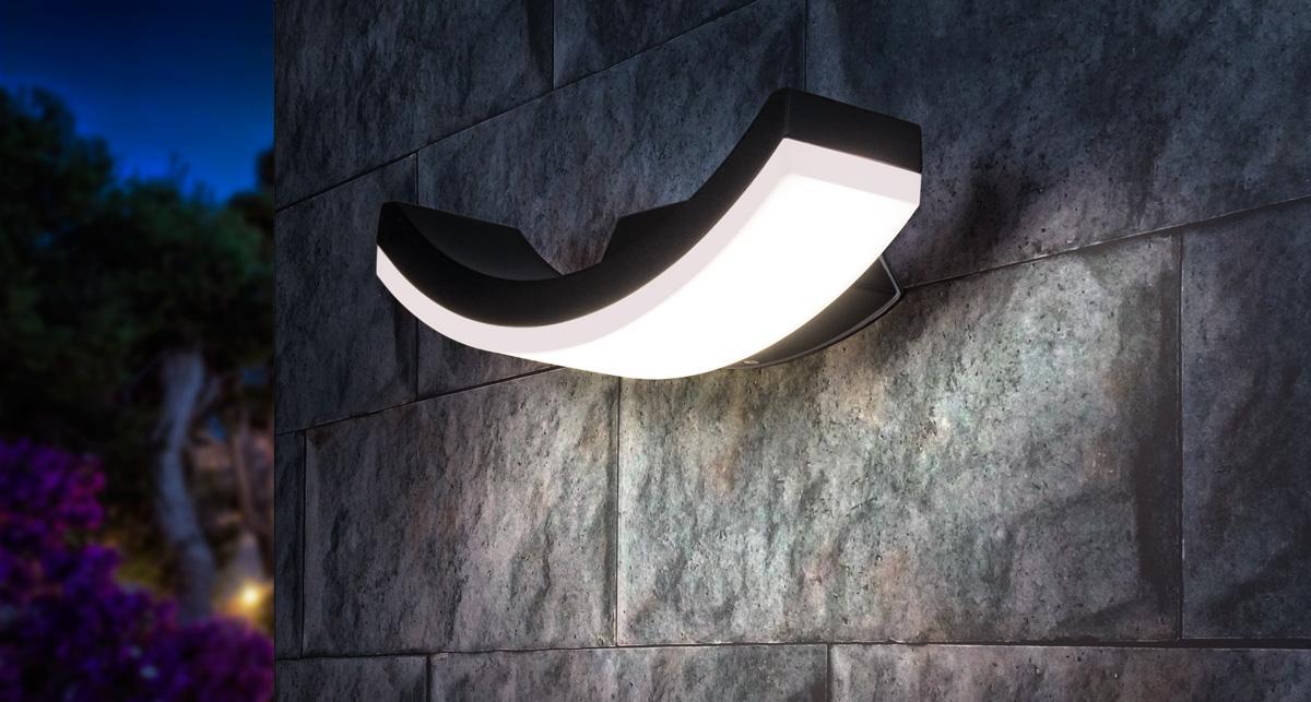 Уличный настенный светодиодный светильник Elektrostandard 1672 Techno LED Asteria U 4690389086137 elektrostandard настенный светильник elektrostandard taurus u малахит арт glxt 1458u 4690389065118