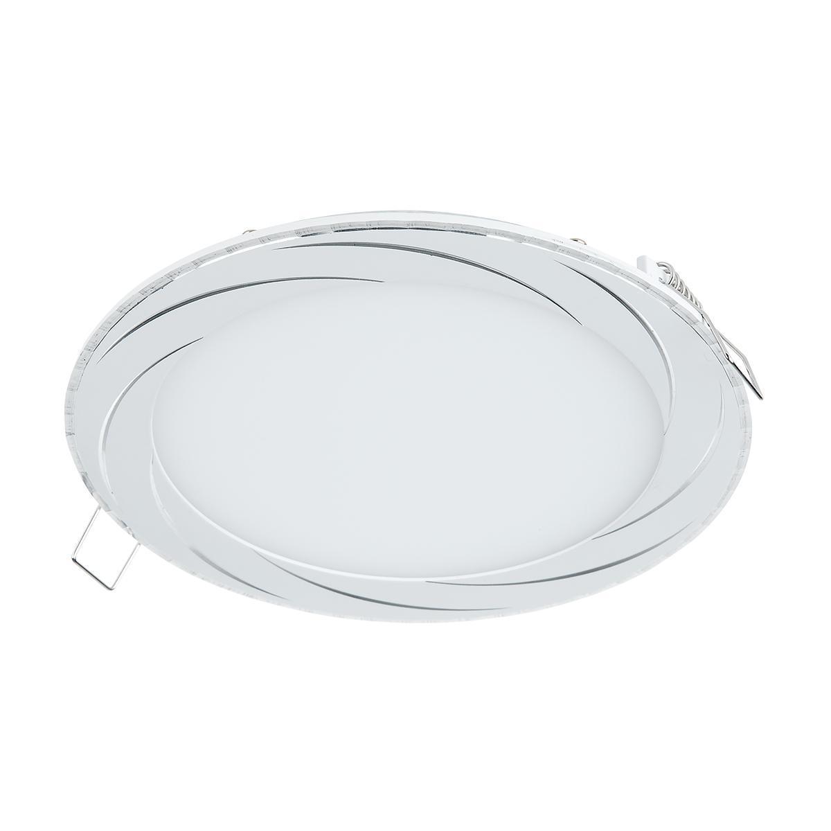 Встраиваемый светодиодный светильник Elektrostandard DLR004 12W 4200K WH белый 4690389084768 vls 700r 12w wh elvan 1154478