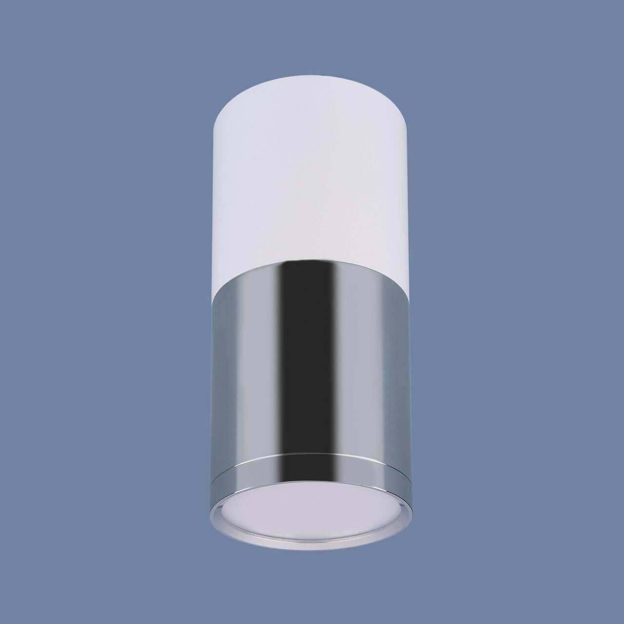 Потолочный светодиодный светильник Elektrostandard DLR028 6W 4200K белый матовый/хром 4690389121975 цена