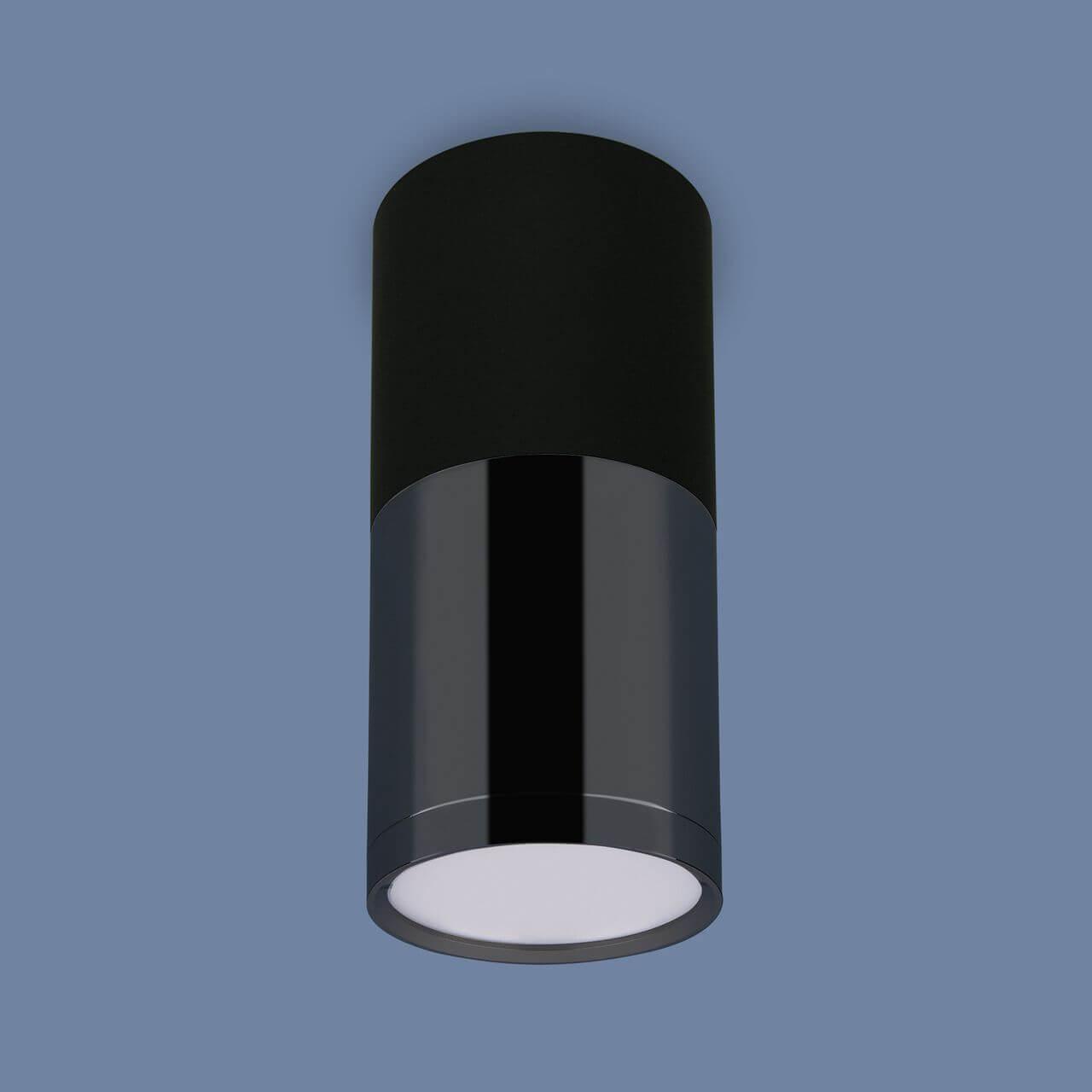 Потолочный светодиодный светильник Elektrostandard DLR028 6W 4200K черный матовый 4690389121999 цена