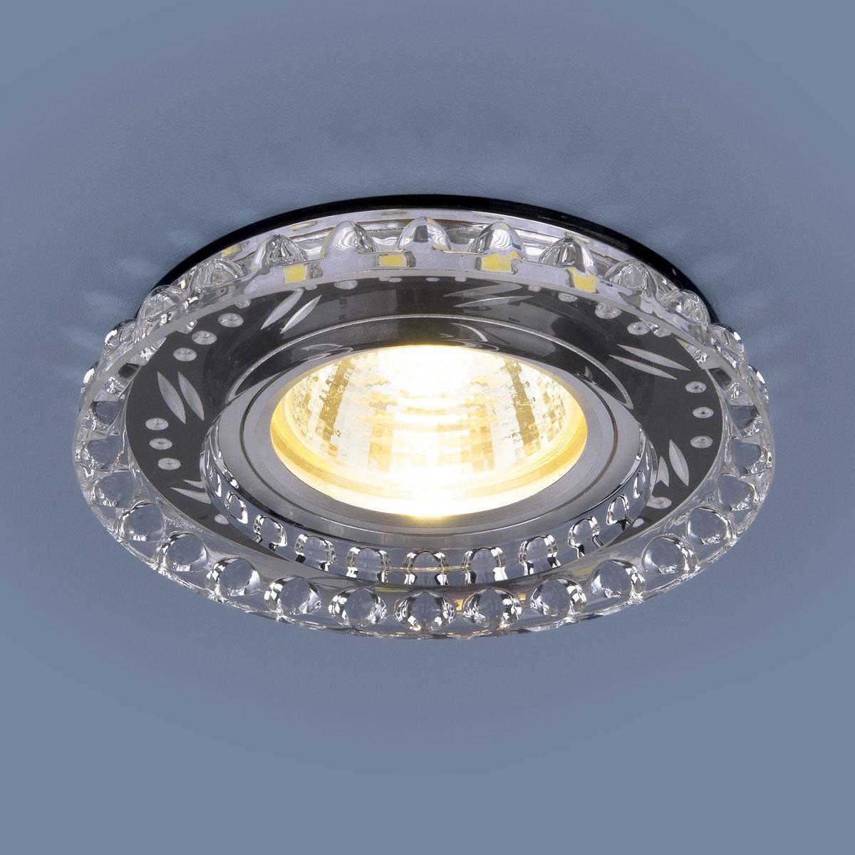 Фото - Встраиваемый светильник Elektrostandard 8351 MR16 CL/BK прозрачный/черный 4690389098376 встраиваемый светильник elektrostandard 8351 mr16 cl bk прозрачный черный 4690389098376