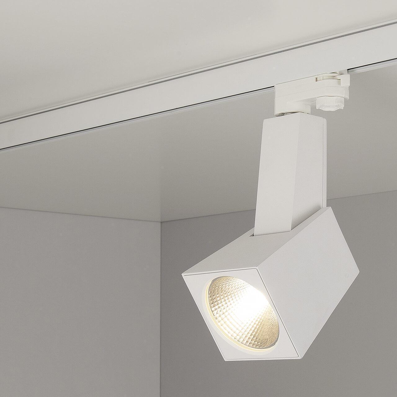 Трековый светодиодный светильник Elektrostandard Perfect белый 38W 3300K 4690389111426 трековый светодиодный светильник elektrostandard perfect черный 38w 4200k 4690389111471