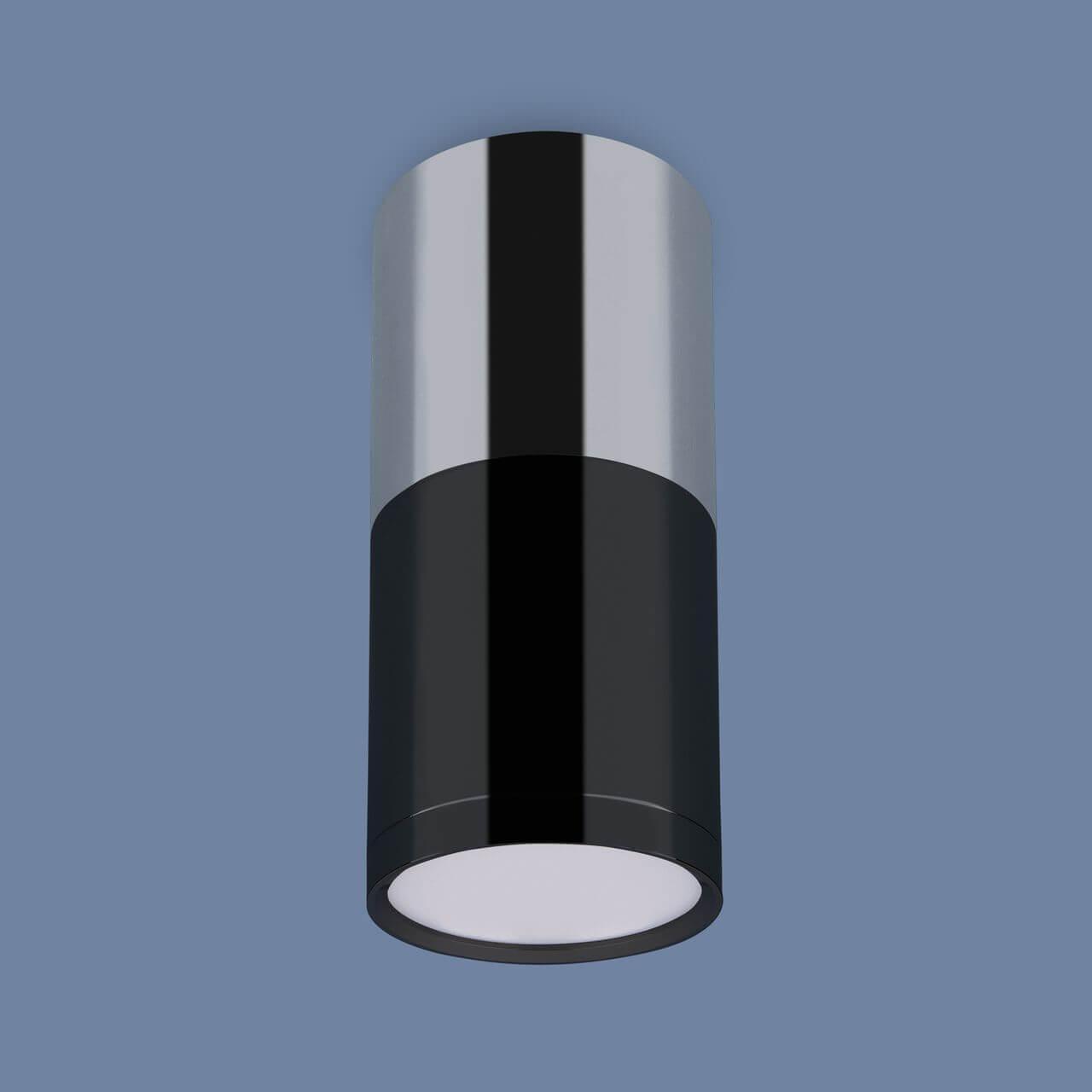 Потолочный светодиодный светильник Elektrostandard DLR028 6W 4200K хром/черный хром 4690389121982 цена