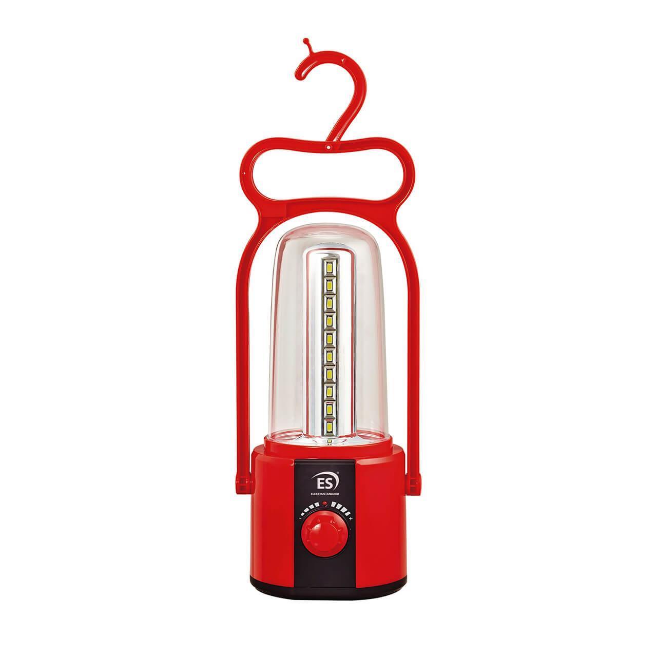 Кемпинговый светодиодный фонарь Elektrostandard Gerhard аккумуляторный 295х100 50 лм 4690389128769 фонарь кемпинговый navigator 94 948 npt ca06 3aa светодиодный